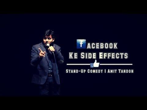 Facebook Ke Side Effects - Stand Up Comedy by Amit Tandon thumbnail