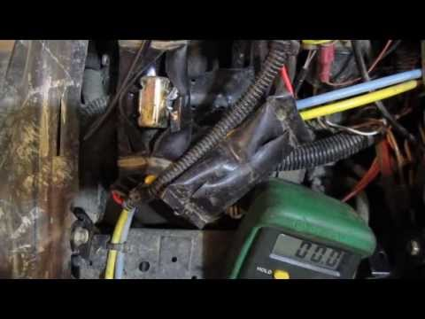 how to test circuit breakers on a polaris sportsman atv - electrical issue  diy - youtube