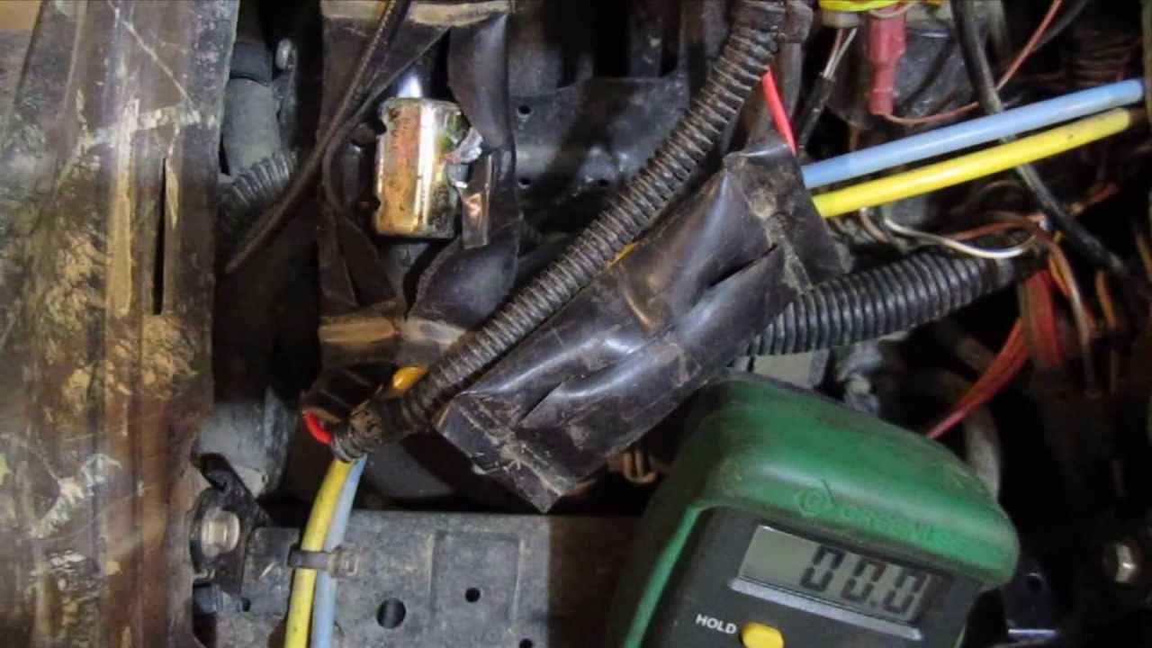 How To Test Circuit Breakers On A Polaris Sportsman Atv Electrical 1995 400 Wiring Schematic Issue Diy Youtube