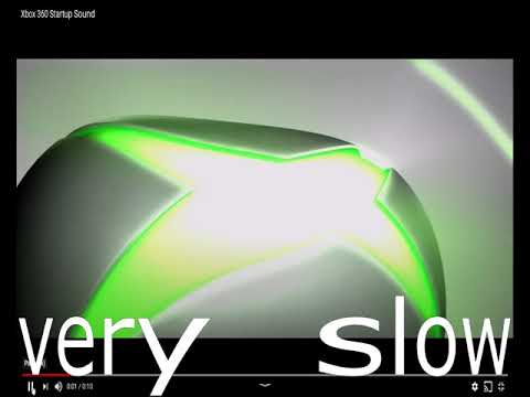 20 Xbox 360 Startup Sound Variations In 2 Minutes And 20 Seconds