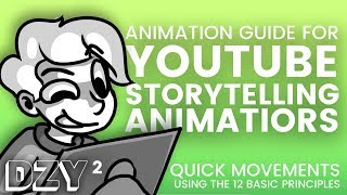 ANIMATION TUTORIAL - Pose-to-Pose Quick Movements (For YT Storytellers/Beginners)