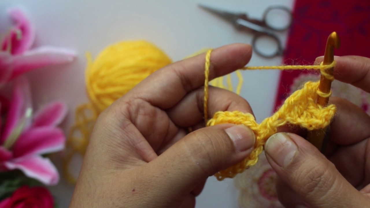 How To Crochet 5 Pointed Star Youtube