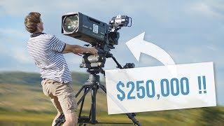 Why are TV Cameras still HUGE and expensive ?