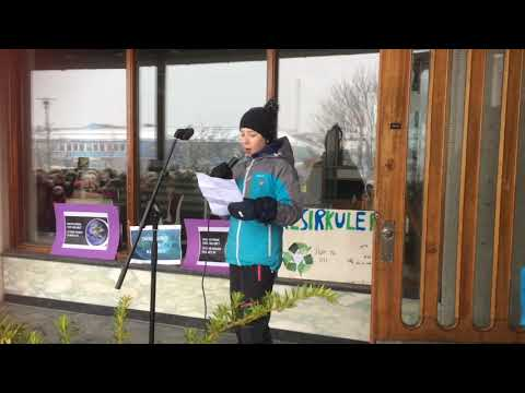 Miljøstreik på Sortland