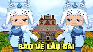 Cuộc chiến bảo vệ lâu đài trong Mini World | Mini Game | Meowpeo