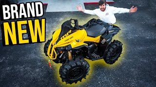 BUYING CAN-AM'S MOST EXPENSIVE FOUR WHEELER! 2021 Can-Am Renegade 1000