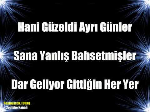 Demet Akalın - Ders Olsun Şarkı Sözleri ( Lyrics )