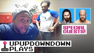 BIG E Gets Scared in UNTIL DAWN: RUSH OF BLOOD feat. SETH ROLLINS & CESARO — UpUpDownDown Plays