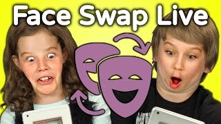 Repeat youtube video KIDS REACT TO FACE SWAP CHALLENGE