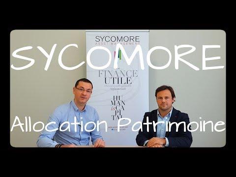 SYCOMORE AM focus sur le fond : ALLOCATION PATRIMOINE