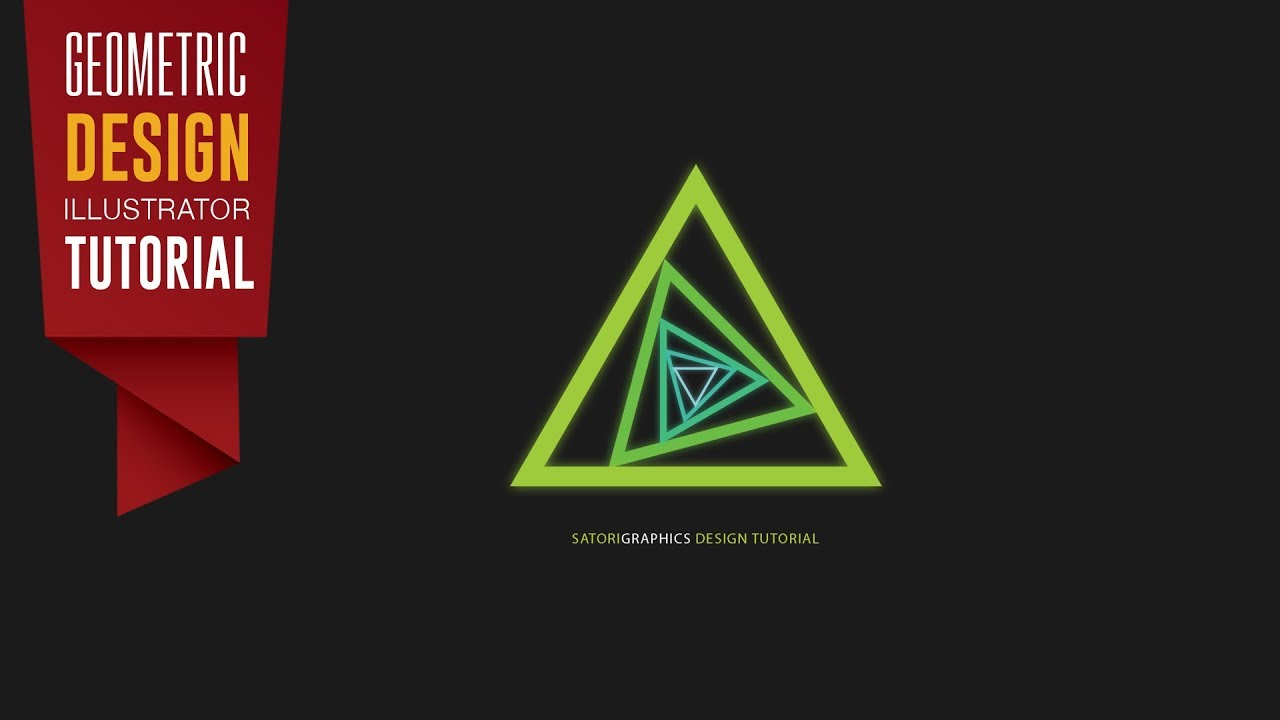 geometric design tutorial adobe illustrator satori graphics