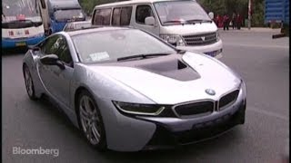 test driving bmw s i8 tesla s 140k competition
