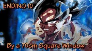 Asi serÁ el ending 10 de dragon ball super !! by a 70cm square window | bardock