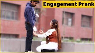 Engagement Prank on Cute Girls | The HunGama Films