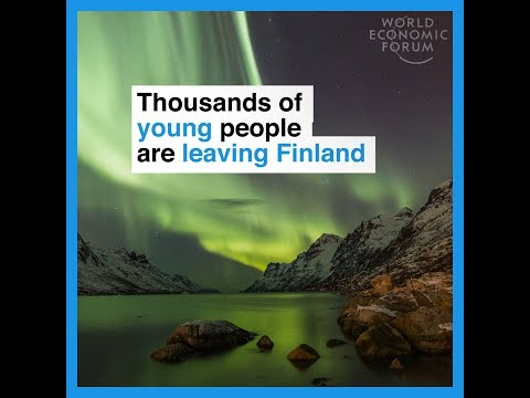 Why is Finland losing so many young professionals