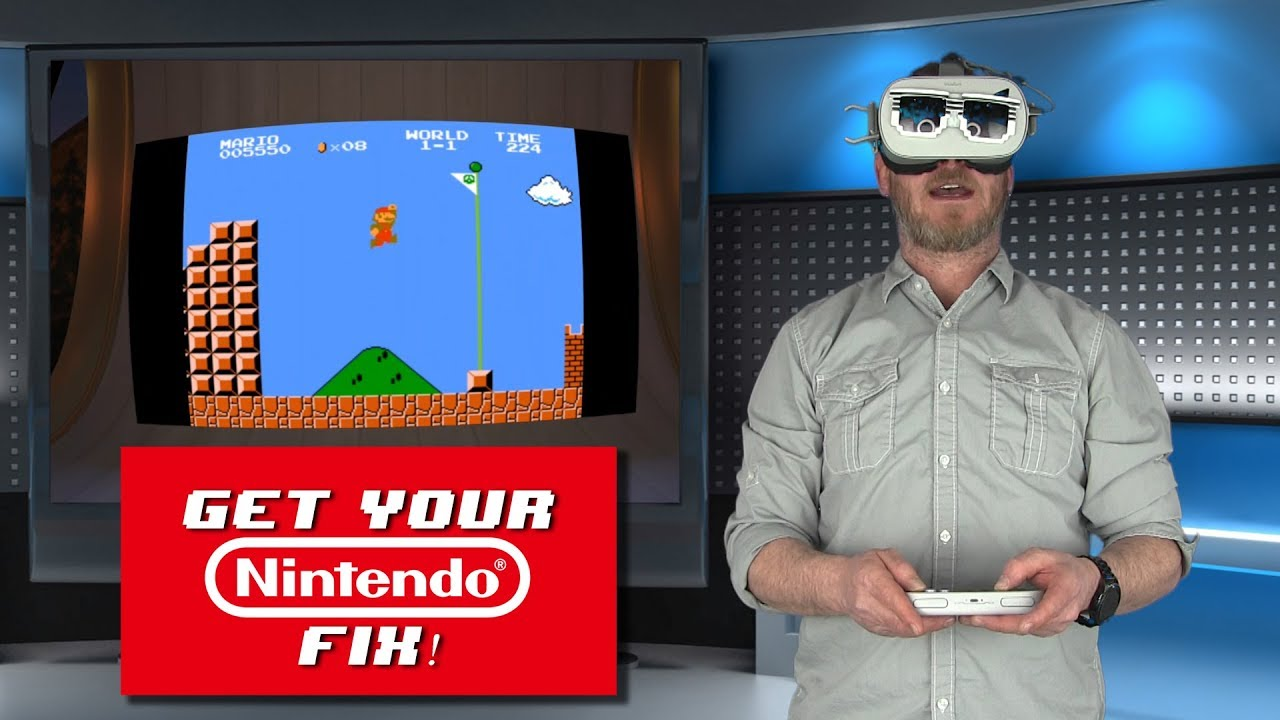 Oculus Go Nintendo Games!!! (Gameboy, NES, & Virtual Boy!)