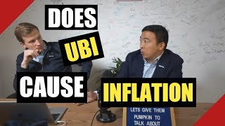 Andrew Yang answers Will the Freedom Dividend cause inflation or cause landlords to raise rent?