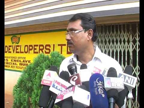 MPS office sealed at Jhargram, Kartick Guha