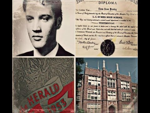 Elvis Presley High School Humes High Memphis The Spa Guy Visits