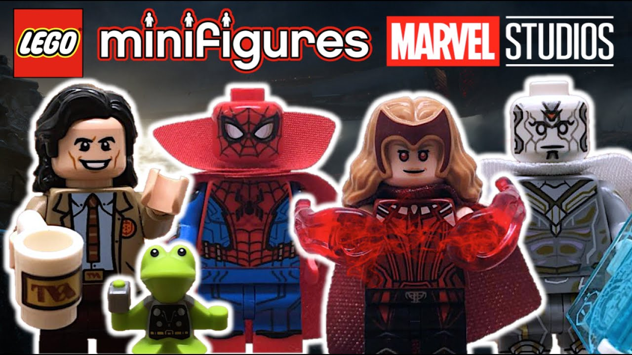 Abrimos Minifiguras de LEGO MARVEL Studios (2021) | PARTE 1 - Wanda, Loki, Spiderman - TOY SHOTS