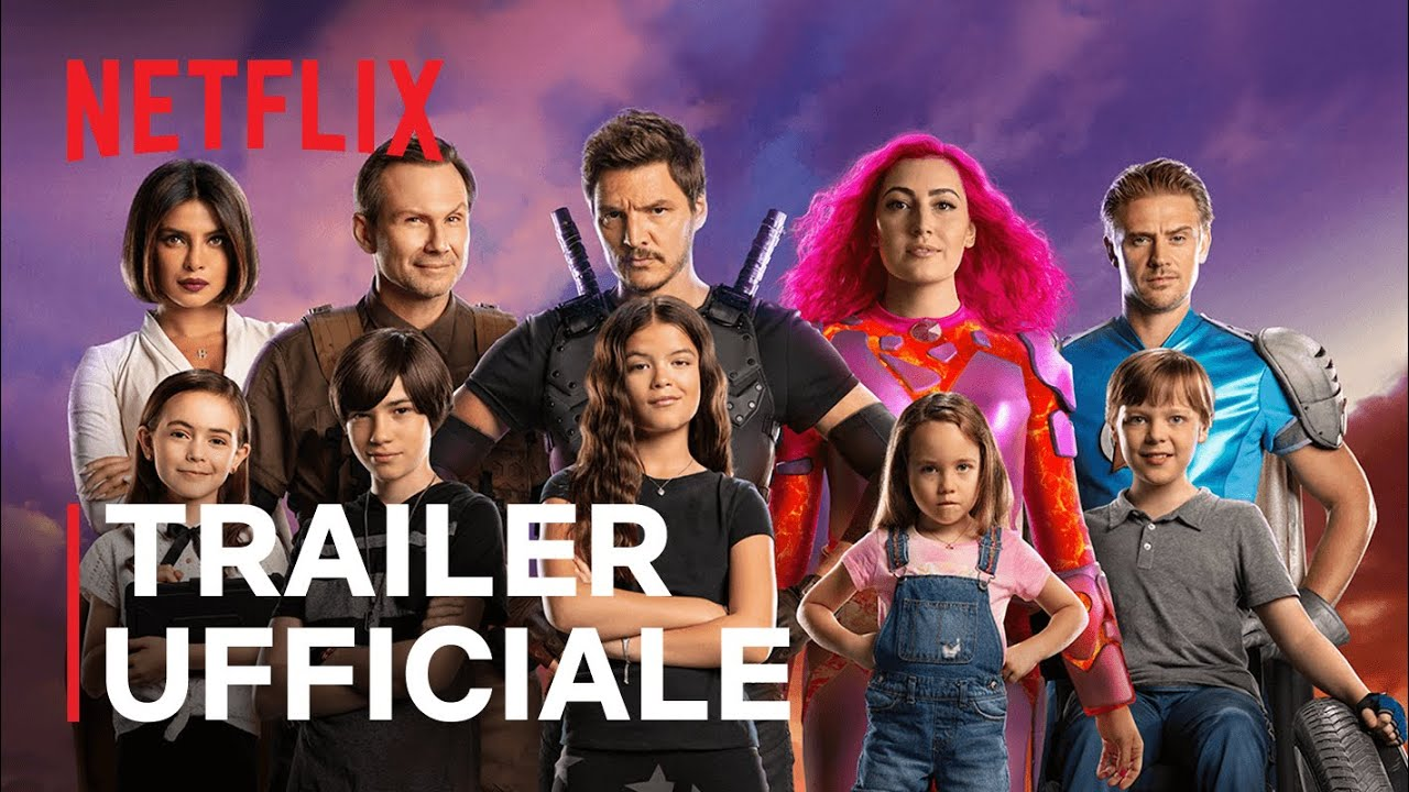 We Can Be Heroes Con Priyanka Chopra E Pedro Pascal Trailer Ufficiale Netflix Youtube