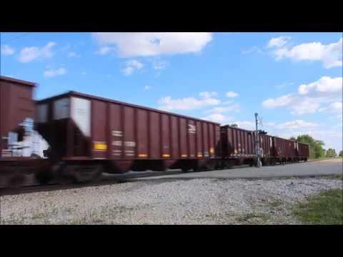 CN Coal Train Tolono Illinois