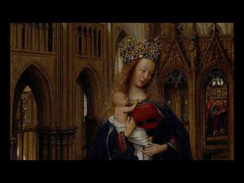 Jan van Eyck, The Madonna in the Church