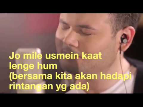 MUSKURANE - RIDHO RHOMA (LIRIK TERJEMAHAN INDONESIA)