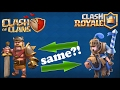 Top 5| Similar Clash Royale and Clash of Clans secrets