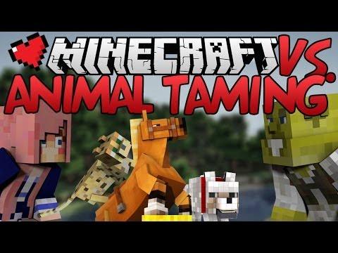 Animal Taming   Minecraft VS. Ep 2