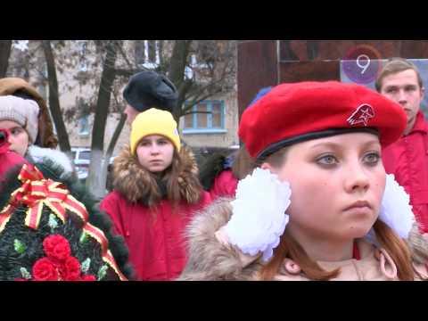 Митинг посвященный 77-ой годовщине Победы в Сталинградской битве