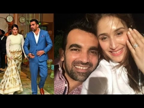 It's OFFICIAL! Zaheer Khan engaged to Sagarika Ghatge