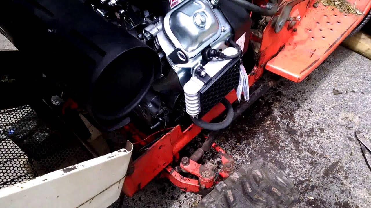Simplicity 7117 Predator 670 repower first start by dark1180