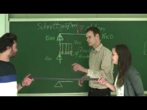Technische mechanik bestimmung der auflagerkr fte by kmk for Grundlagen der mechanik