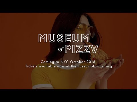 THE MUSEUM OF PIZZA IS COMING TO NYC #MOPI