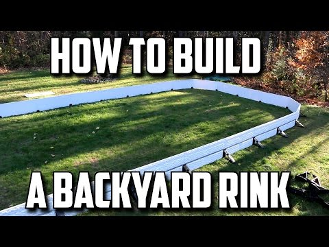 How To Build A Backyard Rink