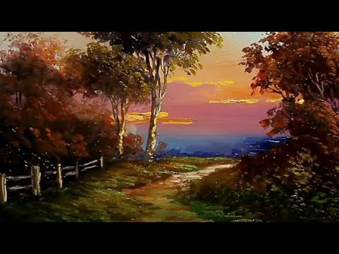 attractive landscape paintings