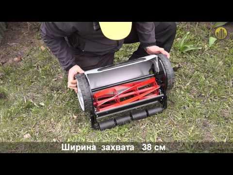 Механическая газонокосилка AL-KO Comfort 38 Soft Touch