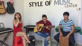 Nhạc Xuân cover guitar cực hot 2017 !!! ''Chiều Xuân''