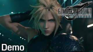 Final Fantasy VII Remake Demo Gameplay (No Commentary)