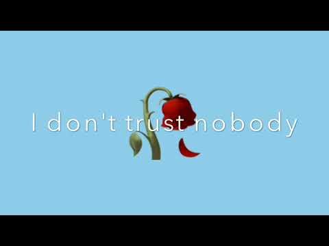 I Don't Trust Nobody-lyrics