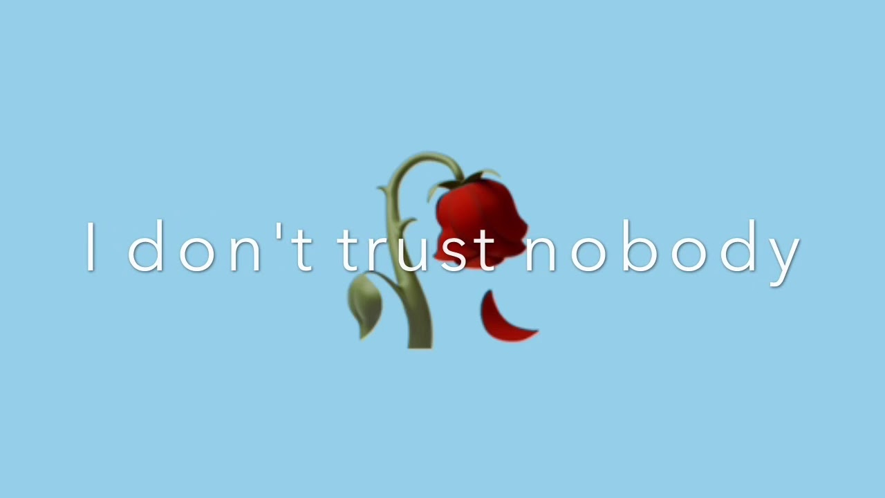 I Don T Trust Nobody Lyrics Feat Shiloh Dynasty Youtube Not even her you are a stranger and she wonders why i? i don t trust nobody lyrics feat shiloh dynasty