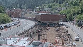 Courtyard Construction Live Stream