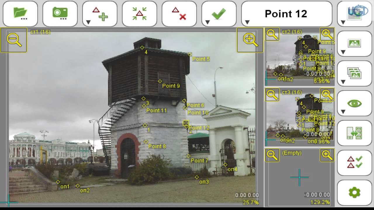Фотограмметрия с помощью приемника javad triumph-ls - youtube
