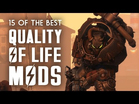 15 Of The Best Quality-of-Life Mods For Fallout 4