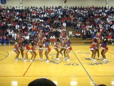 Rich south varsity cheerleaders pep rally youtube