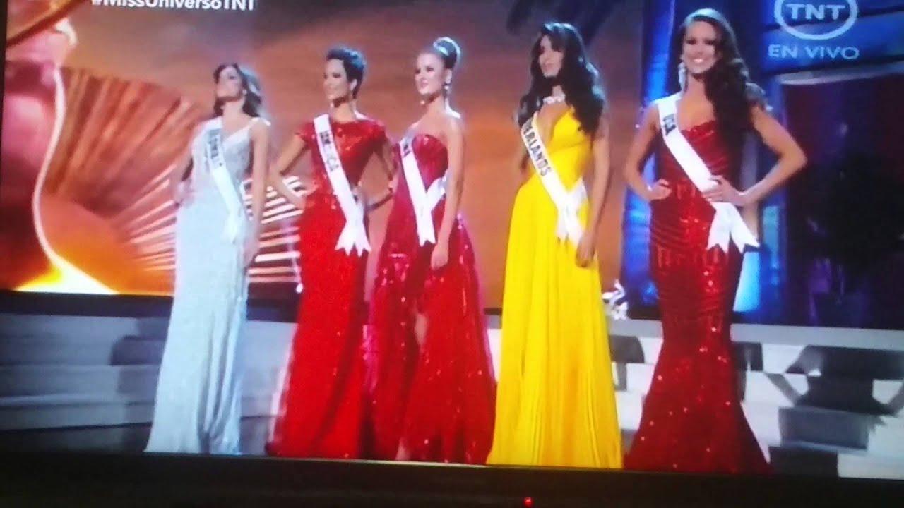 El Miss Universo ya escogi a sus cinco finalistas Fotos Diario 31