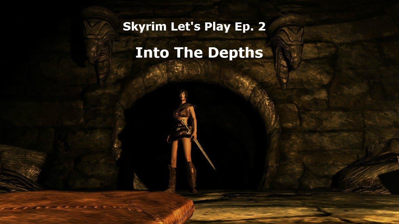 Skyrim Let S Play Ep 2 Youtube