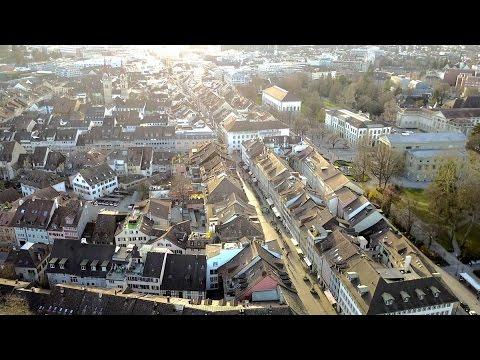 WINTERTHUR SWITZERLAND | Aerial View 4K