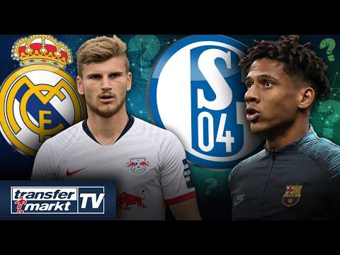 Real An Timo Werner Interessiert Schalke Vor Leihe Von Barca Talent Transfermarkt Youtube